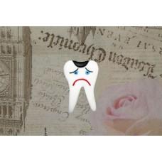 Brosa dintisor suparat