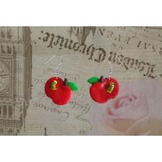 Cercei mere cu viermi