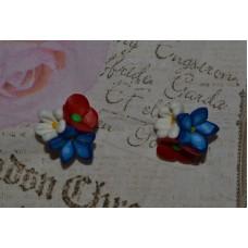 Cercei flori de camp