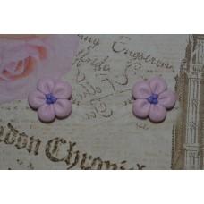 Cercei flori lila