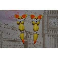 Cercei Pokemon Fennekin 2 pieces