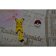 Cercei Pokemon Pokeball Pikachu 2 pieces