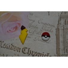 Cercei Pokemon Pokeball coada Pikachu