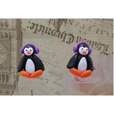 Cercei pinguini mov