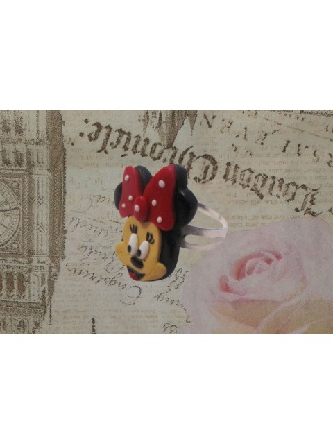 Inel Minnie Mouse