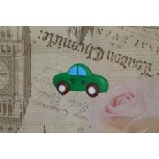 Nasturi personalizati masina verde