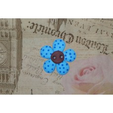Nasturi personalizati floare albastra