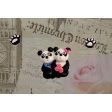 Set brosa - cercei Panda