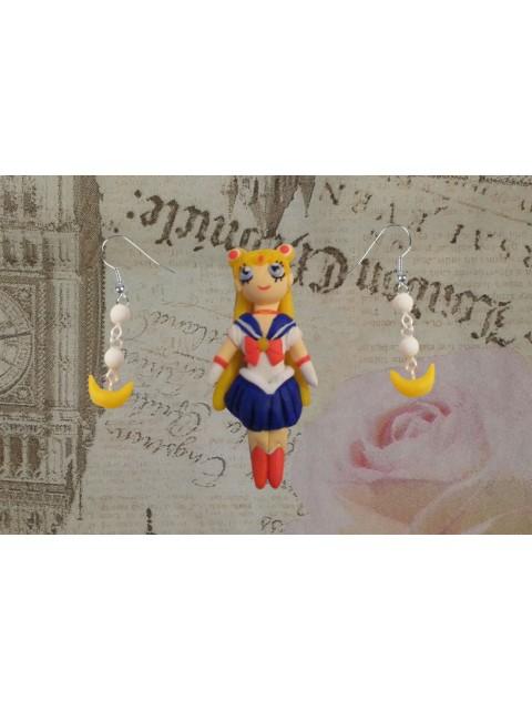 Set brosa - cercei Sailor Moon